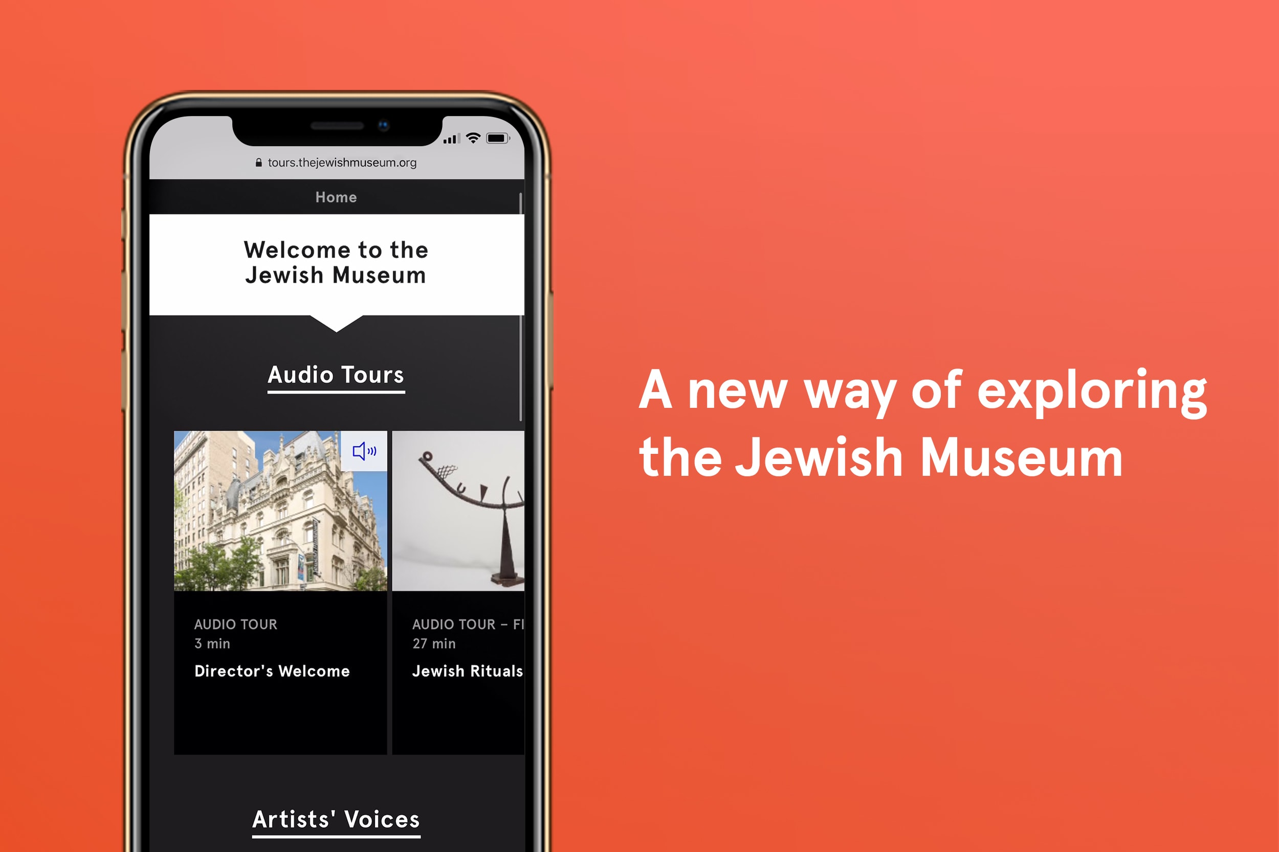 The Jewish Museum Launches New Audio Tours Featuring a Range of Perspectives, Available on All Devices