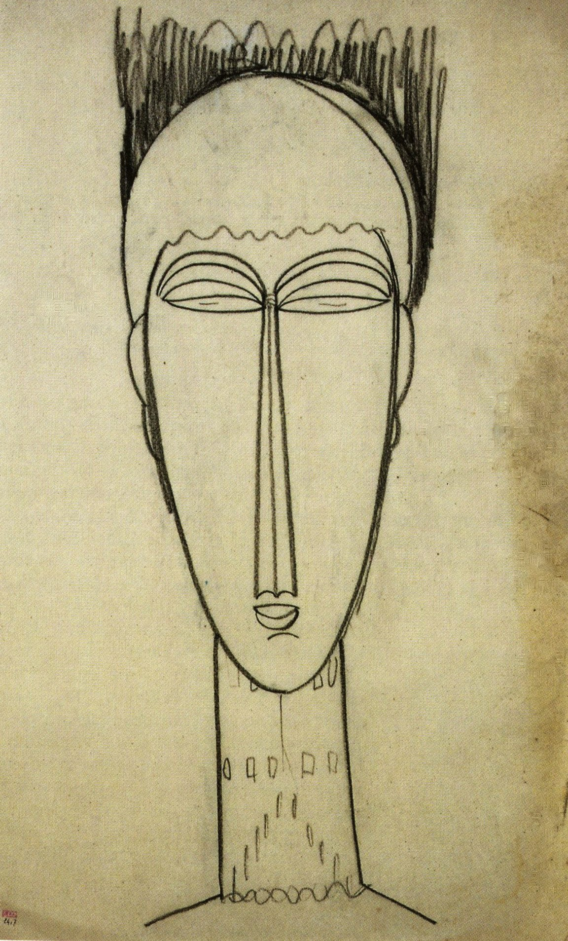 EARLY DRAWINGS BY AMEDEO MODIGLIANI ON VIEW FOR THE FIRST TIME IN THE U.S. AT THE JEWISH MUSEUM