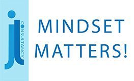 Image states the words Mindset Matters!