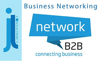 Business Networking. This image contains the Network B2B logo.