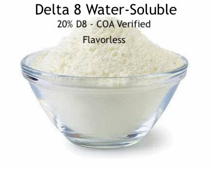 20% Delta 8 Water Soluble Powder - 200,000mg/kg