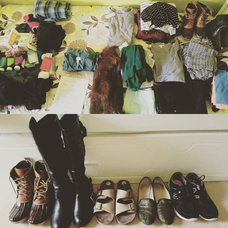 How to Pack for One Year in One Suitcase