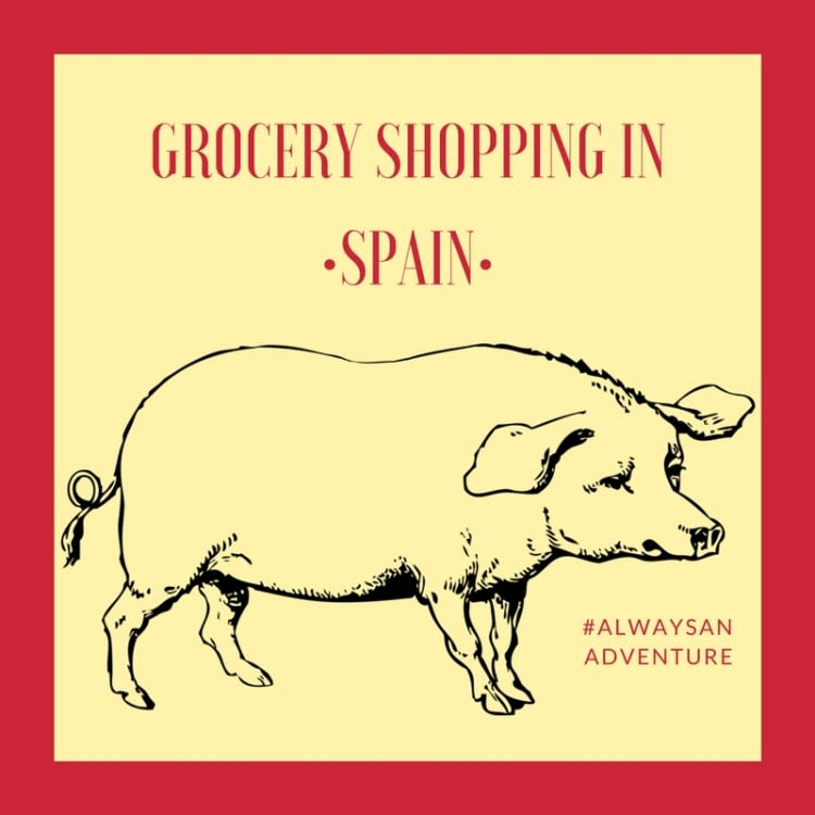 A Trip to the Grocery Store in Spain