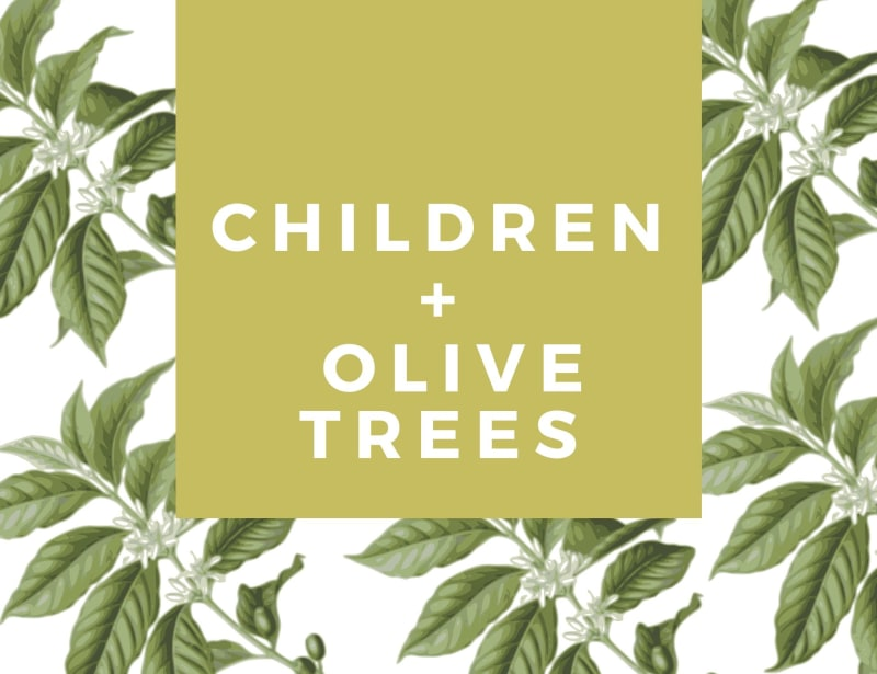 Children & Olive Trees