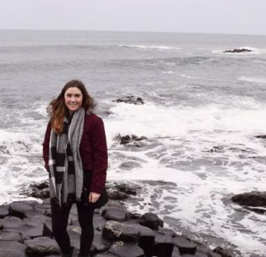 Kate at the ocean