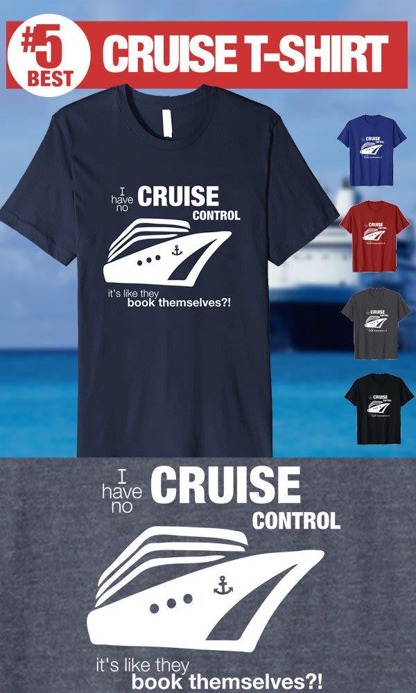 No Cruise Control - #5 Best Cruise Shirt