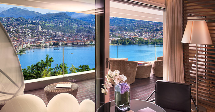 The View Lugano Luxury Boutique Hotel Lugano Switzerland The