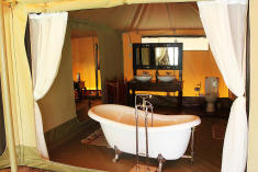Luxury Tent - Double at Atua Enkop Africa - Mara Ngenche Safari Camp