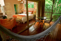Jungle or Superior at La Cantera Jungle Lodge