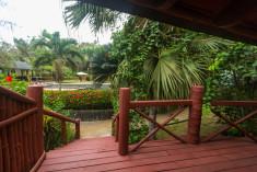 Pool View at Bom Bom Príncipe