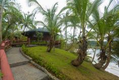 Garden view at Bom Bom Príncipe