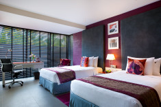 Deluxe room Twin bed  at Hard Rock Hotel Goa