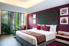 Deluxe room king Gold  at Hard Rock Hotel Goa