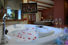 Master Suite with Private Spa 45m2 at  Charming Luxury Lodge & Private Spa