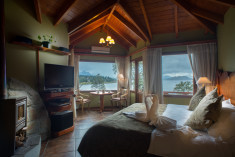 Suite deluxe with private spa 50m2 at  Charming Luxury Lodge & Private Spa