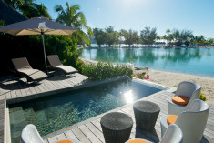 Pool Beach Villa at Le Meridien Bora Bora