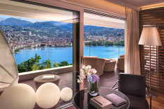 Junior Suite at The View Lugano