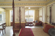 Palace Room Double Bed Lake View, 400 Sp Ft, Incl Wi-Fi, Butler Service at Taj Lake Palace