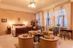 Mahogany Suite at Luxury Art Nouveau Hotel Villa Ammende