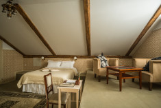 Junior Suite with Sauna at Luxury Art Nouveau Hotel Villa Ammende