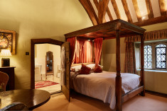 Feature Four Poster Room at Bailiffscourt Hotel & Spa