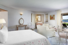 PREMIUM - Guest room, 1 King, Sea view, Balcony at Hotel Pitrizza, a Luxury Collection Hotel