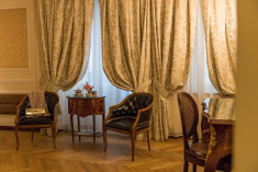 Grand Deluxe room at Bernini Palace Hotel, Florence