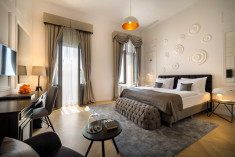 Superior double room, sea side at Remisens Premium Heritage Hotel Imperial - Opatija