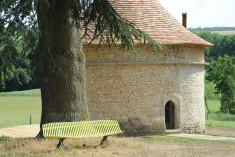 Le pigeonnier at Château de Lerse