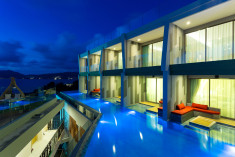 Deluxe Pool Access Seaview  at Crest Resort & Pool Villas, Phuket