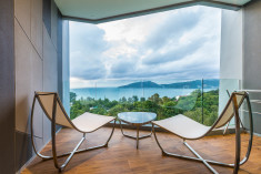 Deluxe Sea View Room at Crest Resort & Pool Villas, Phuket