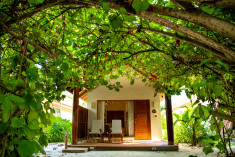 Garden Villa at Reethi Faru Resort, Raa Atoll, Maldives