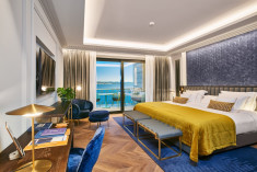 Premium double room at Ikador Luxury Boutique Hotel & Spa
