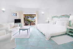 SUPERIOR - Guest room, 1 King, Partial sea view, Balcony at Hotel Pitrizza, a Luxury Collection Hotel