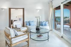 PREMIUM SUITES - 1 Bedroom Suite, 1 King, Marina view, Balcony at Cervo Hotel, Costa Smeralda Resort