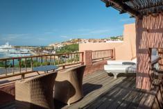 SIGNATURE SUITE - 1 Bedroom Suite, 1 King, Bathrooms: 2, Marina view, Balcony at Cervo Hotel, Costa Smeralda Resort
