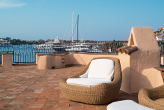 ROYAL SUITE - 2 Bedroom Suite, Bedroom 1 at Cervo Hotel, Costa Smeralda Resort