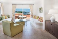 PRESIDENTIAL SUITE - 2 Bedroom Suite, Marina view, Balcony, Plunge pool at Cervo Hotel, Costa Smeralda Resort