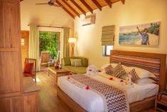 Garden Villa at Reethi Faru Resort, Raa Atoll, Maldives