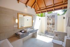 Deluxe Beach Villa at Reethi Faru Resort, Raa Atoll, Maldives