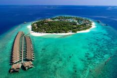 Water Villa at Reethi Faru Resort, Raa Atoll, Maldives