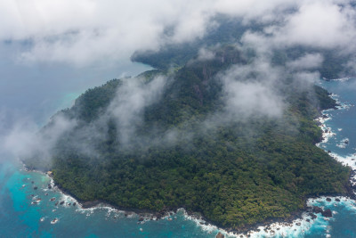 Domestic flight to Príncipe Island