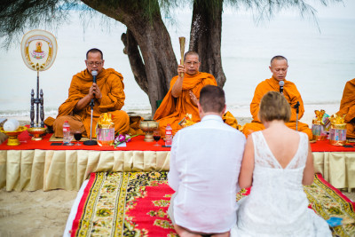Thai Wedding & Blessing Holy Ceremony