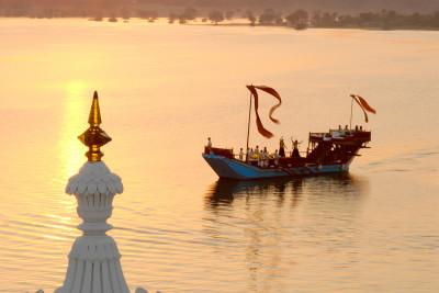 Gangaur Barge - A Historical Boat