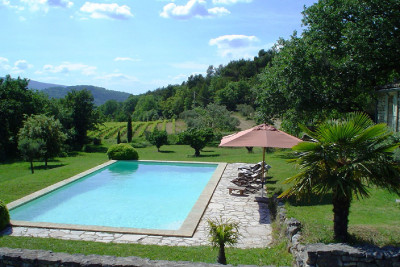 VILLA L'AUTHENTIQUE - MÉNERBES - CALM AND SERENITY WITH VIEW ON VINEYARDS