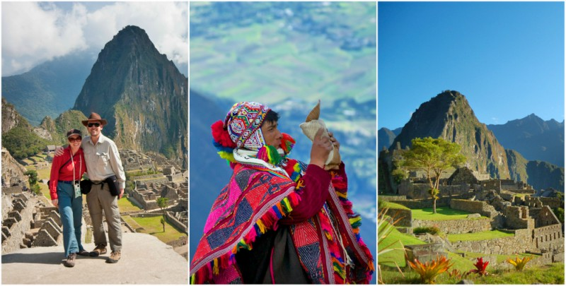 Honeymoon couple on Inca Trail | Peruvian Shaman | Machu Picchu