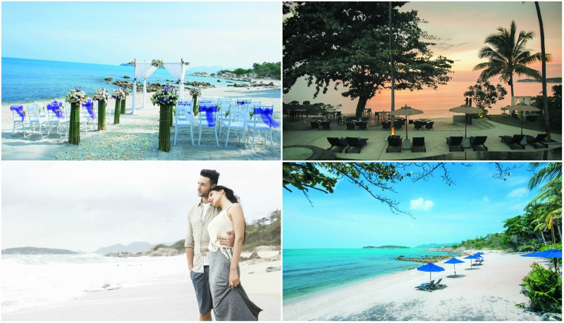 Beach weddings at Outrigger Koh Samui Beach Resort in Thailand