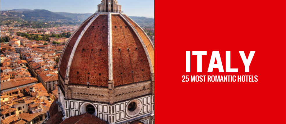 Florence skyline | 25 Most Romantic Hotels in Italy