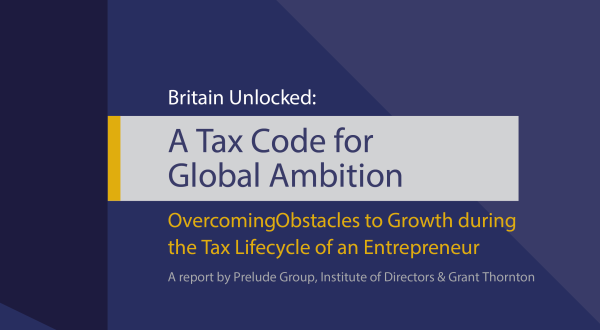 Image of Britain Unlocked: A Tax Code for Global Ambition