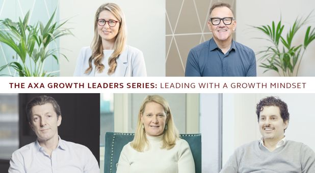 Image of AXA Growth Leaders Series - Leading with a growth mindset